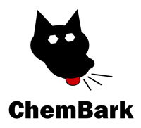 ChemBark Logo with Ed the Dog