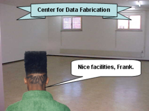 Sarcastic Image of a Center for Data Fabrication