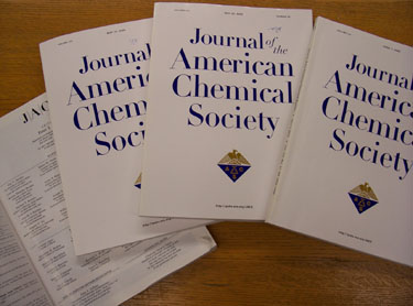 Covers of JACS