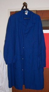 Blue Nomex Labcoat