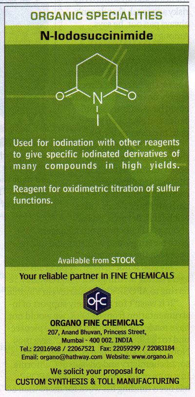 An Ad for Iodosuccinimide in Chemical and Engineering News