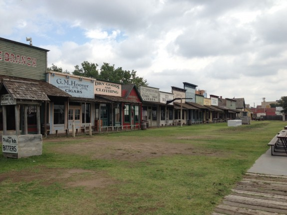 Boot Hill at Dodge City