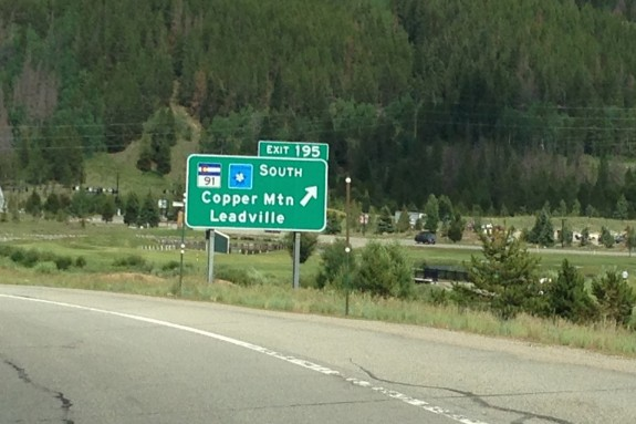Leadville and Copper Mountain Exit