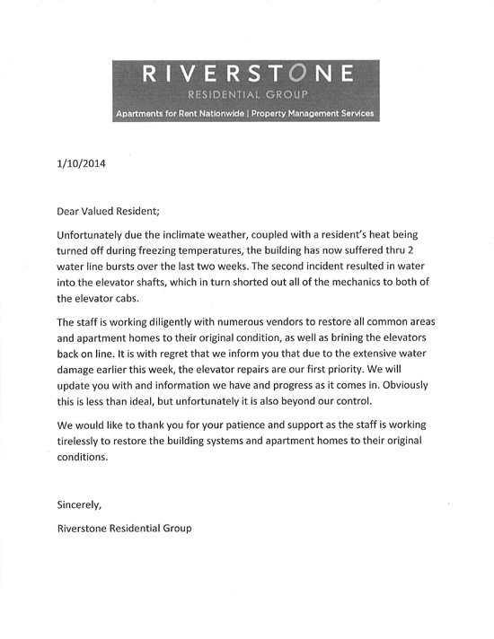 New Landlord Introduction Letter Template Idea 2018
